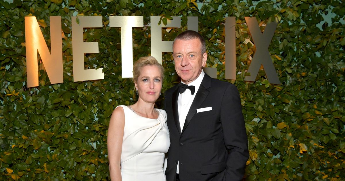 Gillian Anderson 'upset as ex moves in with new girlfriend weeks after split'