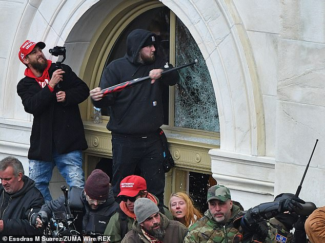 Mob: Republican voters refuse to blame the president for the rioters who stormed the Capitol i his name and wearing his clothing