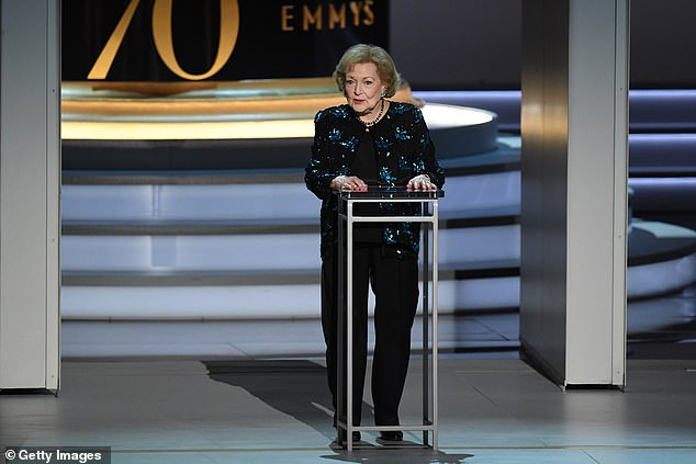 She's still got it:More recently, White starred on the TV Land series Hot In Cleveland from 2010–2015, and she became the oldest person to host Saturday Night Live when she led the cast in 2010; seen in 2018