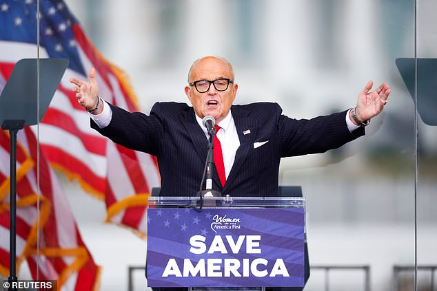 Giuliani now faces his own potential legal exposure for advocating 'trial by combat' in his remarks at a January 6 rally, following which Trump's supporters stormed the U.S. Capitol