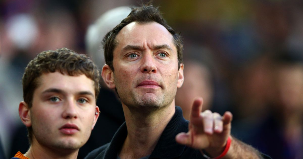 Jude Law's son always knew he would follow in his dad's showbiz footsteps