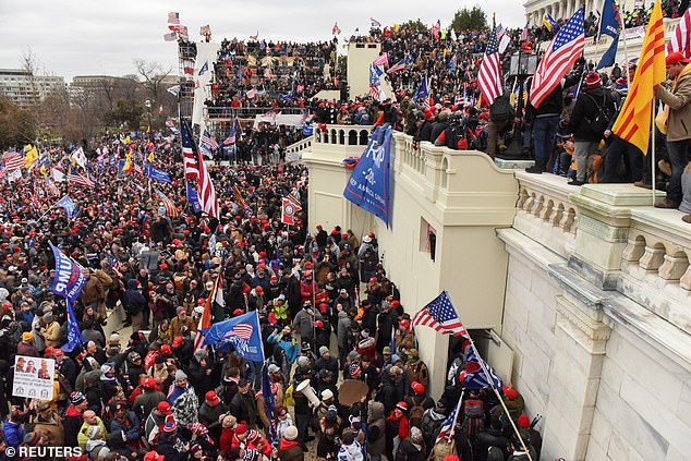 Thousands of pro-Trump protesters descended on the Capitol Wednesday, January 6 in an attempt to stop Congress from voting to certify the election for Joe Biden