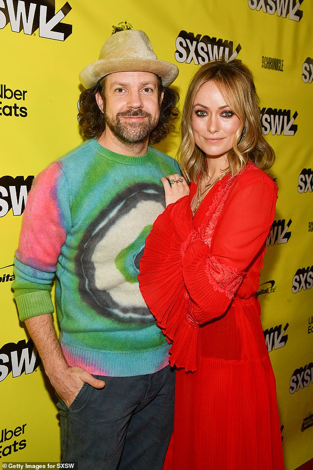 Splitsville: The romance marks mother-of-two Olivia's first public relationship since her split from fiancé Jason Sudeikis, 45, in early 2020 after nine years together (pictured in 2019)