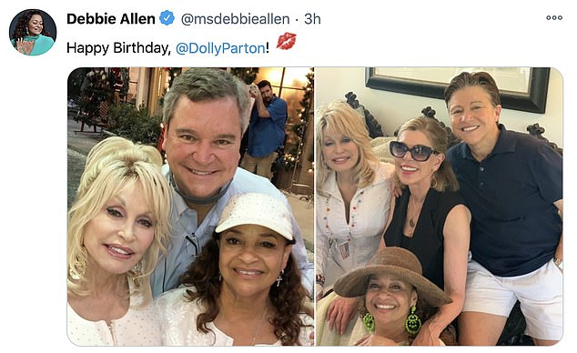 Snapshot!Debbie Allen shared some fun photos of her hanging out with the 9 To 5 songstress