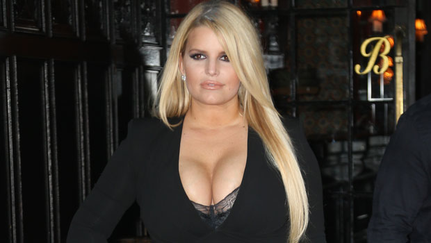 Jessica Simpson Sizzles in Sexy Snakeskin Swimsuit While In The Snow: 'Give Me Steam'