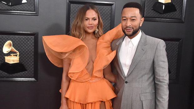 Chrissy Teigen Gets 'Scolded' After Accidentally Spoiling John Legend's Inauguration Performance