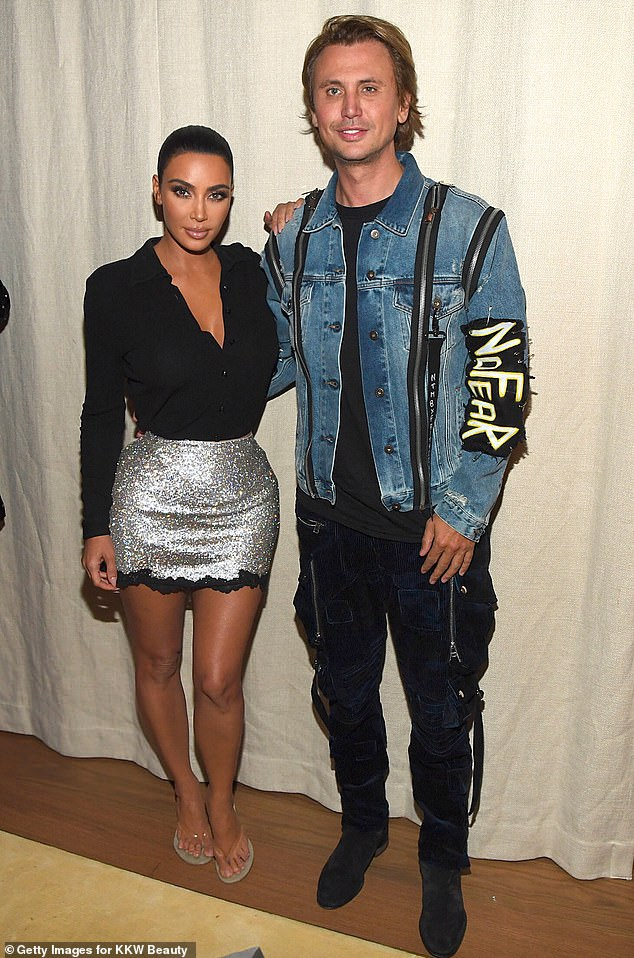 A break: And the New Jersey native was so sick he had to bow out of shooting scenes for the 20th and last season of Keeping Up With The Kardashians alongside his best friend Kim Kardashian. Seen with Kim in 2019 in NYC