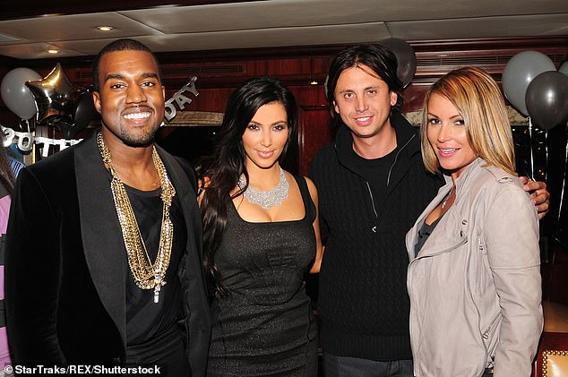 Will he carry on? It is not known if he will pop up in the family's new series for Hulu which launches this year. Seen with Kanye, Kim and Angie Martinez in 2010