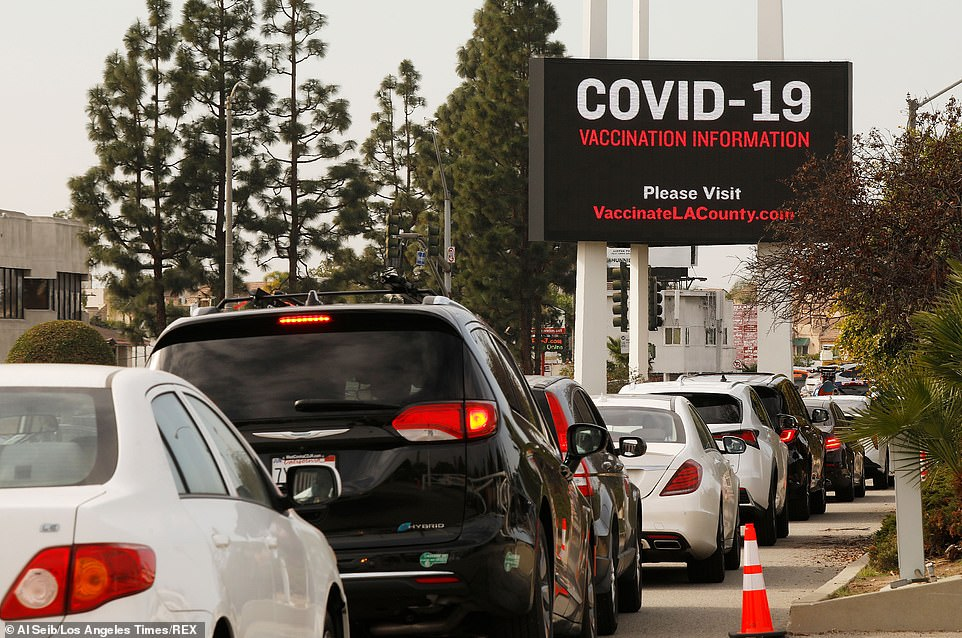 The Forum in Inglewood began vaccination distribution serving as a COVID-19 vaccination site, while also serving as a COVID-19 testing site.Amazon on Wednesday offered to put its vast operation to work helping President Biden get 100 million Americans vaccinated against Covid-19 in the next 100 days