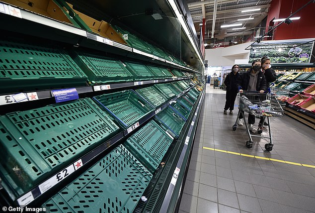 Ministers have admitted that post-Brexit rules are partly to blame for empty shelves in Northern Ireland supermarkets