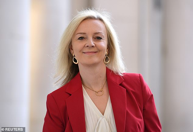 Liz Truss, the International Trade Secretary, said problems in Northern Ireland were 'down to both' Brexit and coronavirus