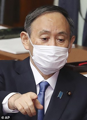 Japan's Prime Minister Yoshihide Suga also said the same last week
