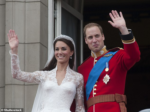 The Duke and Duchess of Cambridge married on 29 April 2011 and share three children - George, seven, Charlotte, five, and Louis, two