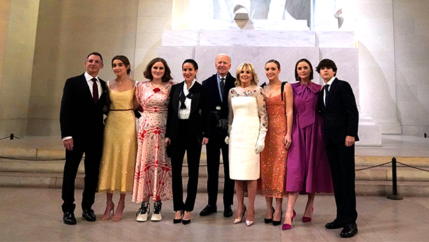 Joe Biden's Daughter Ashley, 39, & Grandkids Look So Stylish At Inauguration: See Outfits