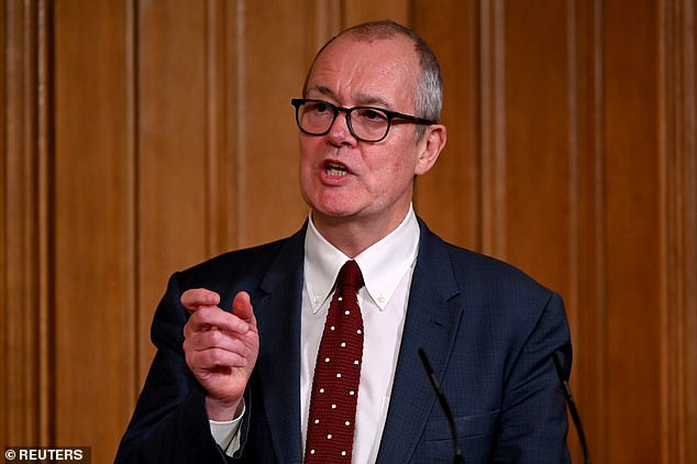 Sir Patrick Vallance Friday said it was too early too draw conclusions from Israel's vaccination drive after alarm that hospitalisations have not yet dropped