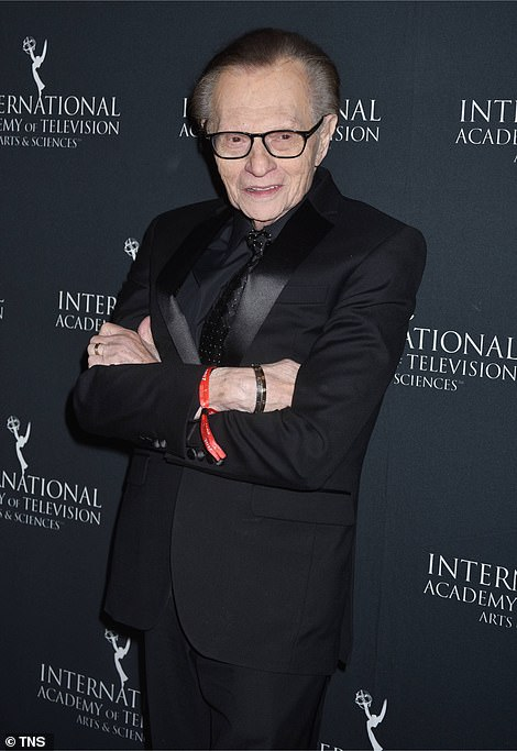 Larry King at the 45th International Emmy Awards at New York Hilton on November 20, 2017, in New York City