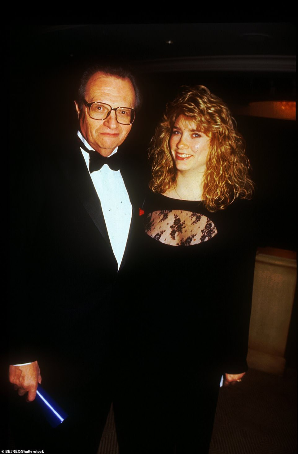 King and his daughter Chaia celebrate Frank Sinatra's 80th Birthday in Los Angeles in 1995. Jackie Gleason helped King snag his first big break as a novice radio broadcaster in 1961: a sit-down with Frank Sinatra, who famously declined all media requests. 'There was nobody bigger in the world than Frank Sinatra and he never did interviews,' said King. As a result of that first interview, the two formed an  unlikely friendship that lasted until Sinatra's death in 1998. He wrote to King: 'What you do is you make the camera disappear'