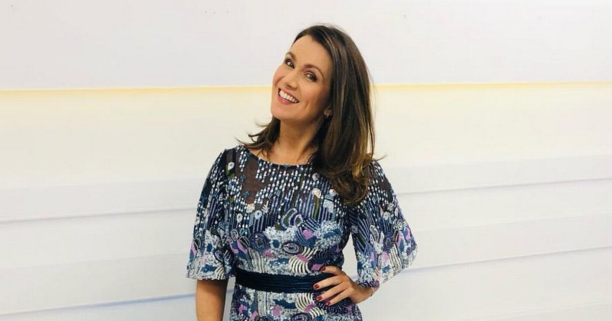 Susanna Reid says her special 50th birthday celebration left her in tears