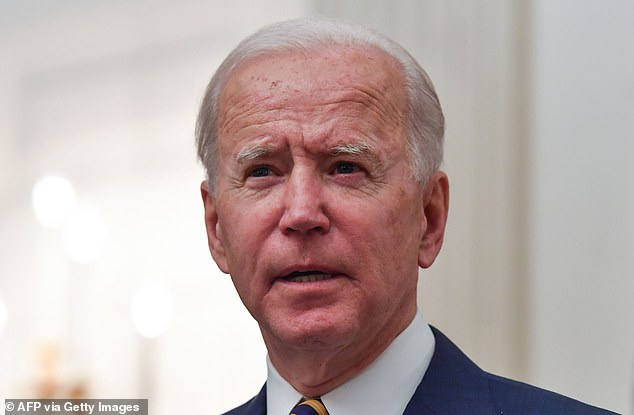 On his side? Joe is confident that he may get one from Biden in the coming weeks and months as he knows Vice President Kamala Harris is keen to 'help clean up the corruption in the Department of Justice and other agencies', TMZ reports