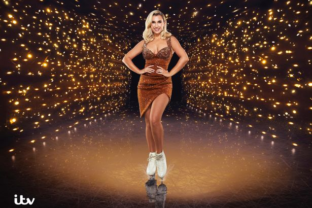 Billie Faiers is currently competing in Dancing on Ice