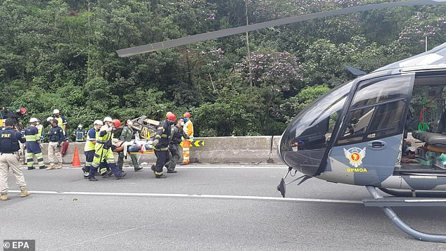 The crash left 19 people dead, along with 33 injured. Seven of those injured remain in a serious condition in hospital following the crash at around 8.30am local time