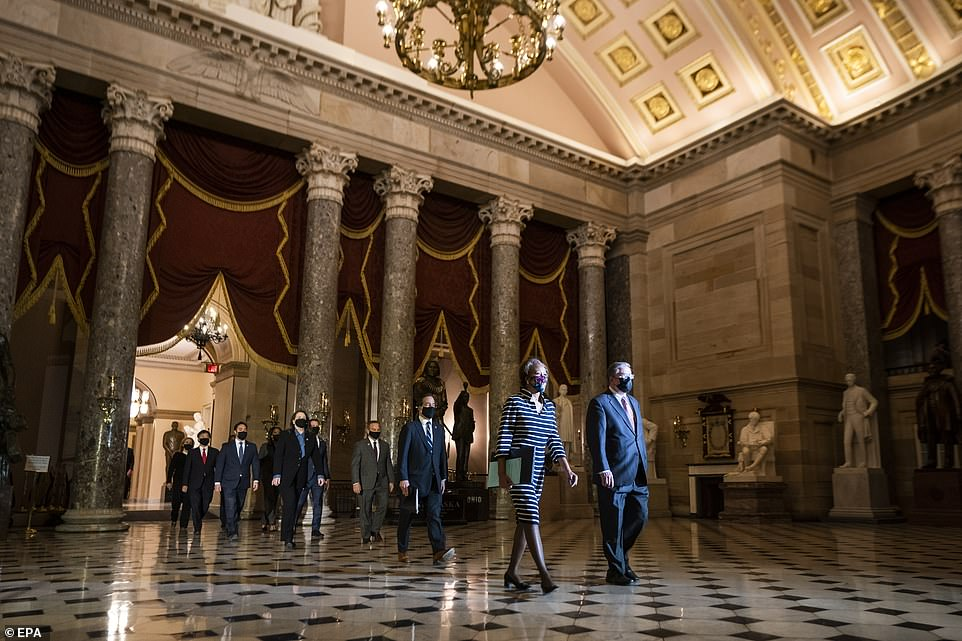 Cleaned up: On January 6, the MAGA mob stormed into the Capitol. The impeachment trial will try to remind senators how they felt in danger
