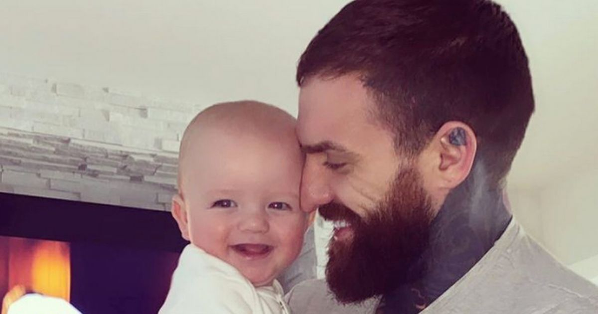 Geordie Shore's Aaron Chalmers on 'struggle' of being a new dad in lockdown