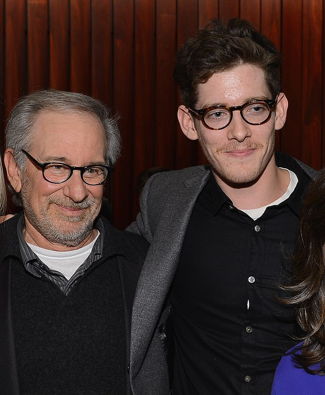 Big screen debut: The 28-year-old son of movie director Steven Spielberg stars alongside Malin Barr and Barbara Kingsley in the New England-set horror