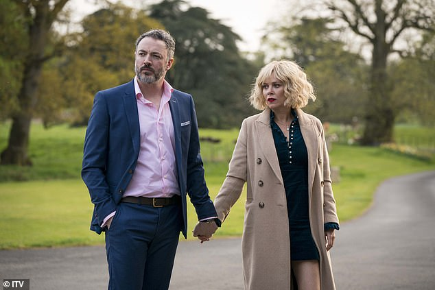 Marcella was recruited into an undercover police unit and tonight's episode showed just how far Marcella would go to help bring down the Maguire family - including snitching on her boyfriend for embezzling company money (pictured together)
