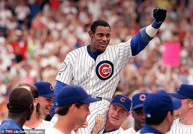 Sammy Sosa failed to get the requisite 75 percent support among BBWAA voters on Tuesday