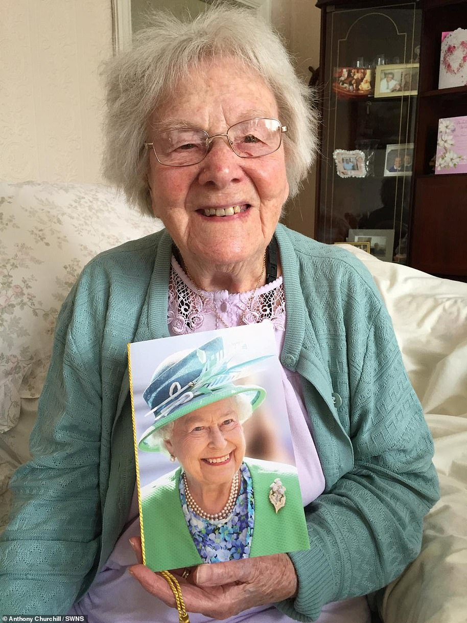Hilda Churchill, 108, is believed to be the UK's oldest coronavirus victim