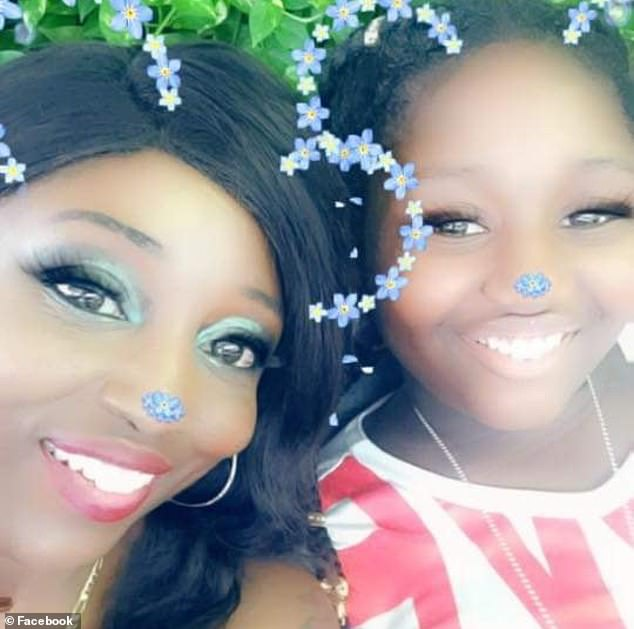 Kezzie Childs, 42, (left) and her 13-year-old daughter Rita (right) were also shot and killed