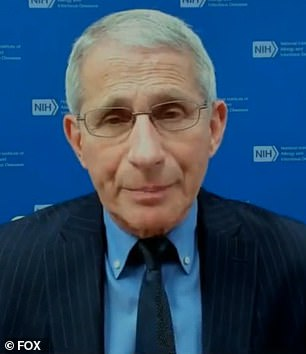 Fauci admitted he's no longer interested in 're-examining' what happened in the past with Trump after speaking openly about their disagreements in several interviews with various media outlets following the president's departure from Washington last week