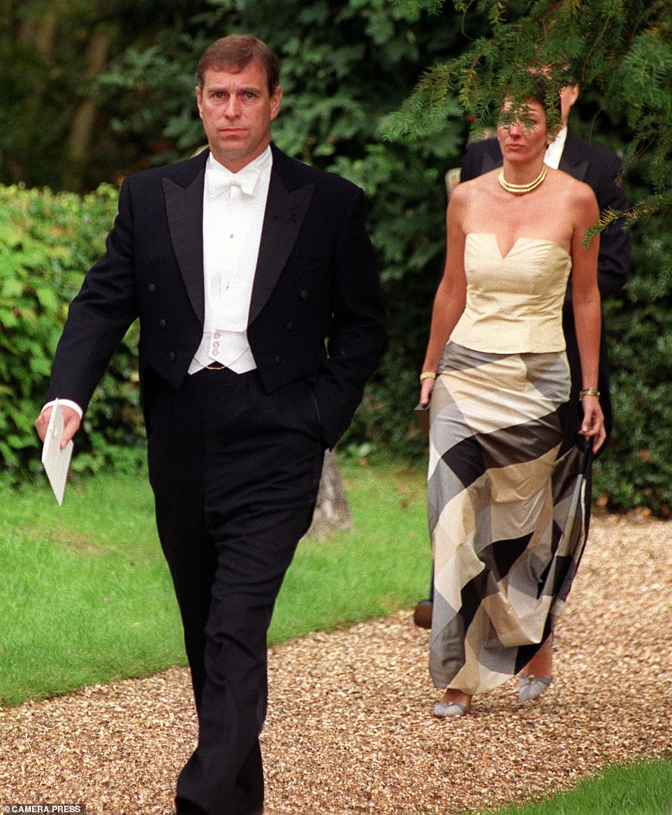 Maxwell is a long-time friend of Prince Andrew (pictured together in 2009) and was the one who introduced him to Epstein, with whom he became close friends