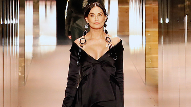 Paris Fashion Week: See Demi Moore, Bella Hadid & More Slaying On The Runway — Pics