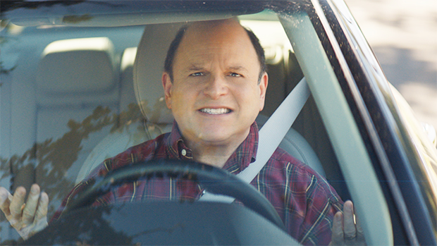Jason Alexander's Face Hoodie Becomes The New Must-Have Accessory In Tide's Oddly Charming SB Ad