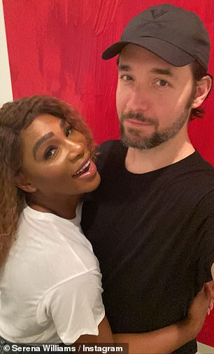 Ohanian with his wife and tennis legend Serena Williams