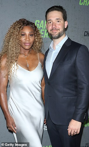Ohanian, who is married to tennis superstar, Serena Williams (together), denounced short-selling as a 'weak way' to make money because it involves betting on businesses to fail