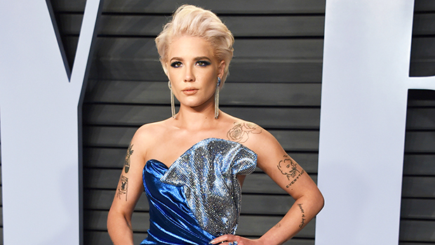 Halsey Shows Off Baby Bump In Gorgeous New Pic As She Reflects on Endometriosis Struggles & 'Scars'