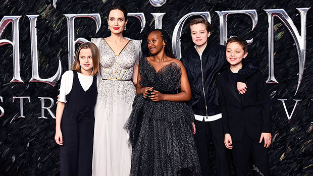 Why Angelina Jolie 'Loves' Having A House Full Of Teenagers: 'She Enjoying Every Minute'