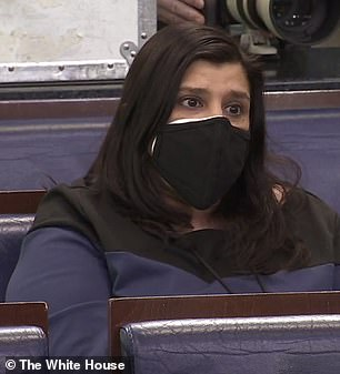 Politico's Anita Kumar (pictured) asked about immigration executive orders