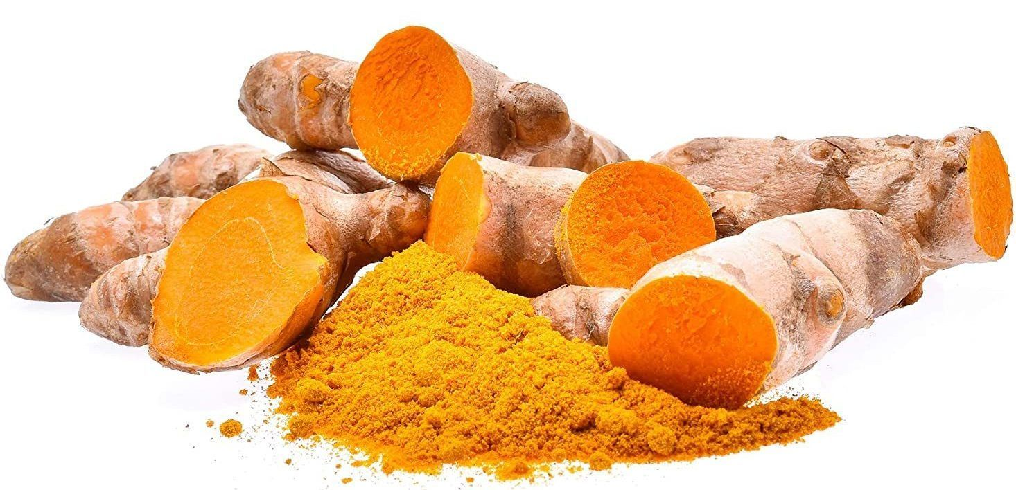 Supplements with turmeric.
