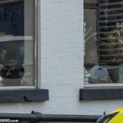 A Full English lockdown: Met Police probe officers spotted 'flouting' Covid curbs INSIDE London café