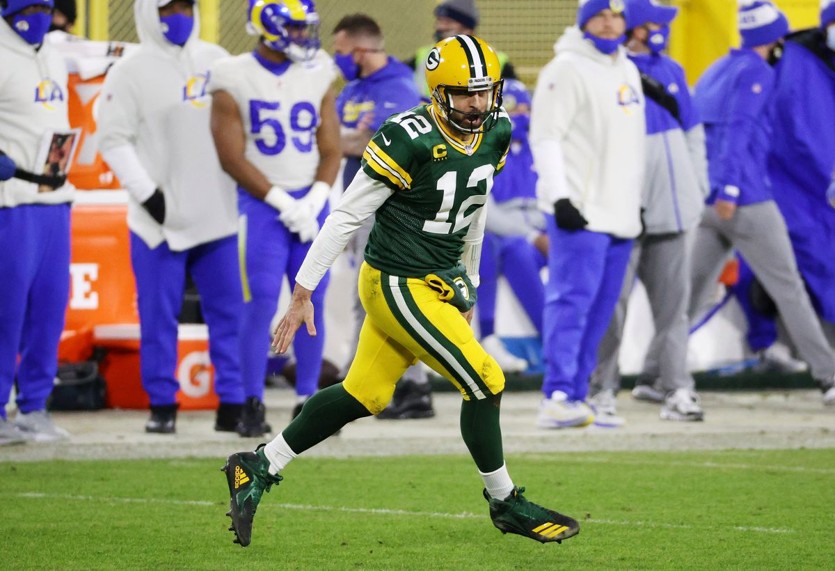 Aaron Donald cries as Aaron Rodgers advances to the Championship Game with his Packers | The State
