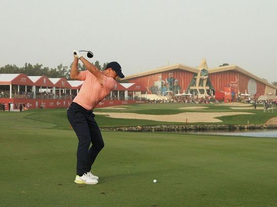 Abu Dhabi HSBC Championship: Eagle has McIlroy flying high once again in race for Falcon Trophy