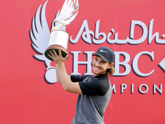 Abu Dhabi HSBC Championship: Tommy Fleetwood has major plans for 2021