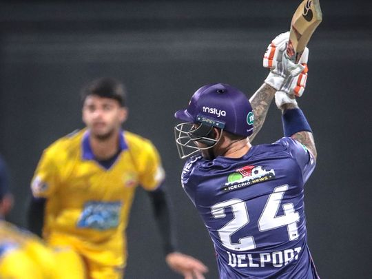 Abu Dhabi T10: Zahoor Khan and Delport help Deccan Gladiators record their first victory