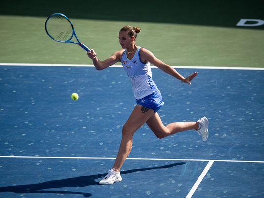 Abu Dhabi WTA Women's Tennis Open: Pliskova looks to take control