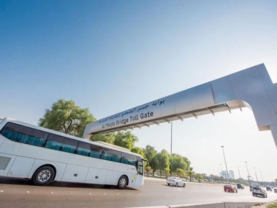 Abu Dhabi begins charging Dh4 road toll during peak hours