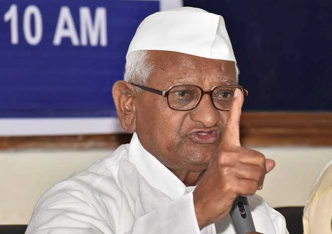 Anna Hazare to launch indefinite fast against farm laws from Saturday